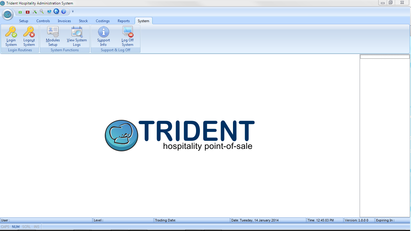 trident hospitality point of sale